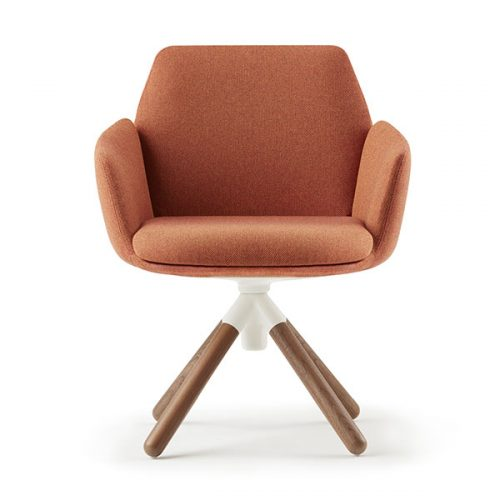 Orange Poppy Chair - Offices and studios