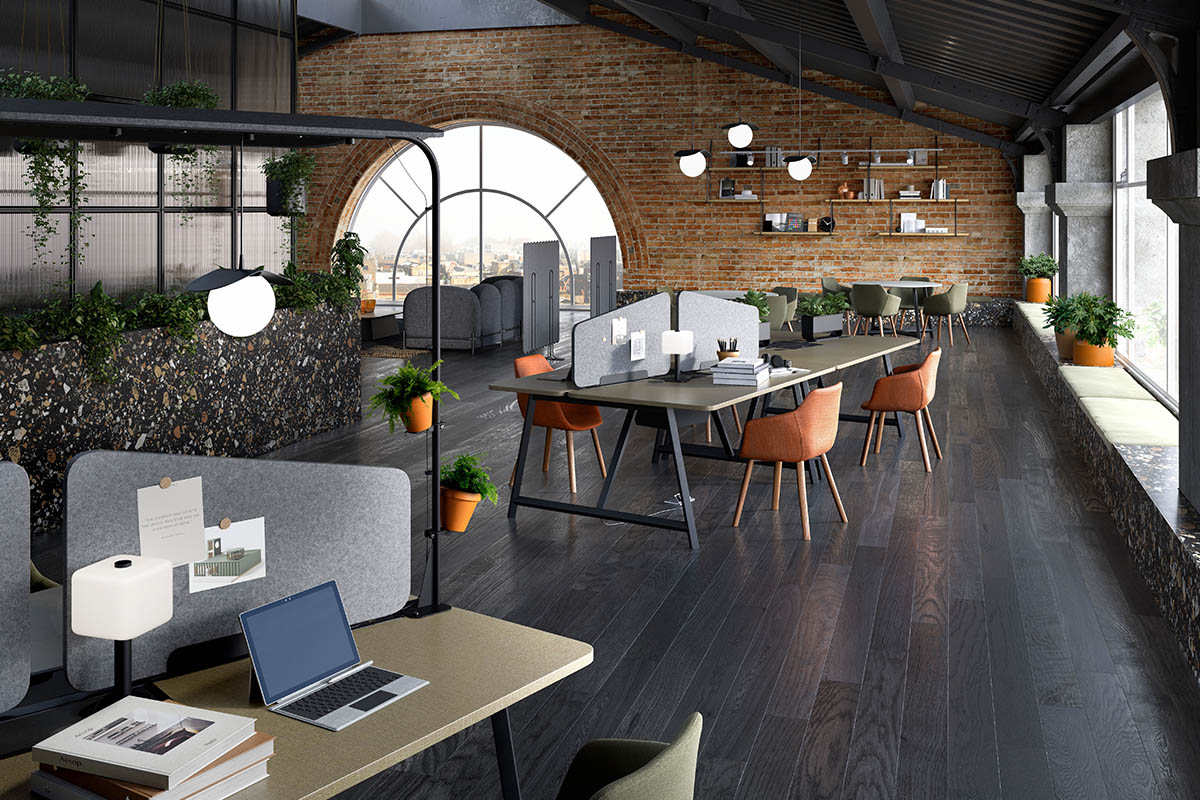 Co-working multi-functional workspace